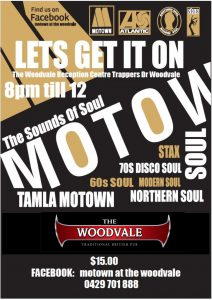Motown Night @ The Woodvale Reception Centre | Woodvale | Western Australia | Australia
