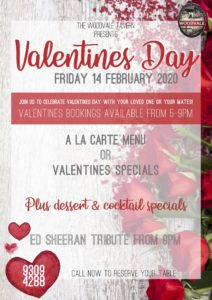 Valentines Day @ The Woodvale Tavern | Woodvale | Western Australia | Australia