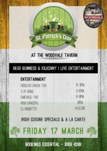St. Patrick's Day @ The Woodvale Tavern & Reception Centre | Woodvale | Western Australia | Australia