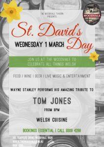 St. David's Day @ The Woodvale Tavern & Reception Centre | Woodvale | Western Australia | Australia