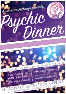 Psychic Dinner @ The Woodvale Tavern & Reception Centre | Woodvale | Western Australia | Australia