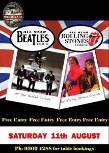 Beatles & Rolling Stones Tribute @ The Woodvale Tavern and Reception Centre  | Woodvale | Western Australia | Australia