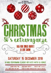 80's Extravaganza Christmas Party 2018 @ The Woodvale Tavern and Reception Centre | Woodvale | Western Australia | Australia