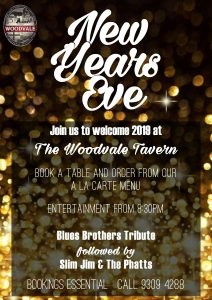NYE 2018 At The Woodvale Tavern @ The Woodvale Tavern and Reception Centre | Woodvale | Western Australia | Australia