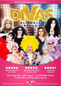 DIVAS - All Male Revue !!! @ The Woodvale Tavern & Reception Centre
