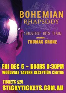 Bohemian Rhapsody Show @ The Woodvale Tavern & Reception Centre