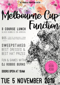 The Woodvale|Melbourne Cup 2019|