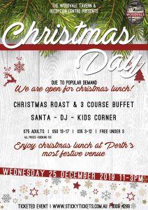 Christmas Day at The Woodvale @ The Woodvale Tavern and Reception Centre | Woodvale | Western Australia | Australia