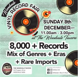 Vinyl Record Fair @ The Woodvale Tavern and Reception Centre