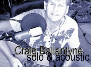 Craig Ballantyne @ The Woodvale Tavern & Reception Centre