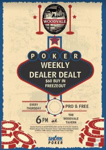 Shark Poker @ The Woodvale Tavern and Reception Centre | Woodvale | Western Australia | Australia